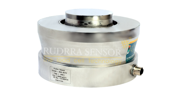 Low Profile Compression Load Cell (RTN) - Rudrra Sensor